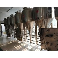 Wholesale 2000L Beer Fermentation Equipment Commercial Beer Fermenter Touch Screen Control from china suppliers