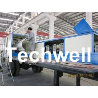 Buy cheap 914-610 Mobile K Span Roll Forming Machine for 0.8 - 1.5mm K Span Arched Roof from wholesalers