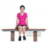 Wholesale outdoor fitness equipment High quanlity outdoor wooden fitness bench from china suppliers