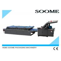 Wholesale Manual Flute Sheet Lamination Machine Semi Automatic 1500mm For Corrugated Cardboard from china suppliers