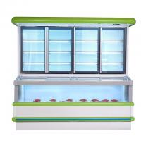 Wholesale Vertical Combination Freezer And Refrigerator  With 1.8 M 2.5m High Efficient from china suppliers