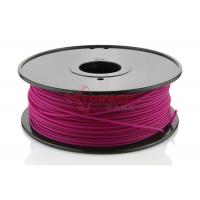 Wholesale Plastic PLA 3D Printing Filament 3MM Purple For Printer Makerbot R2 / UP 2 from china suppliers