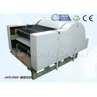 China Nonwoven Cotton Wool Fiber Carding Machine With Single Cylinder Double Doffers on sale