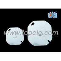 Wholesale EMT Conduit Box Covers Industrial Blank Up Plate Thickness 1.2mm / 1.5mm / 1.6mm from china suppliers
