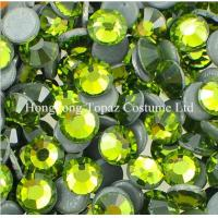 Wholesale Olivine dmc hot fix stones wholesale MC crystal stones from china suppliers