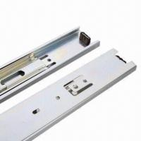 Quality Telescopic Ball Bearing Slides, No Rust for Using 10 Years Outside Slide, Telescopic Drawer Runners for sale