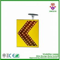 Wholesale Manufacturer of road sign solar power led flashing traffic signal arrow board from china suppliers