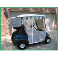 Wholesale Track Style Golf Cart Enclosures 3  Sided Nylon Golf Cart Covers Light Weigh from china suppliers