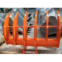 Wholesale All Brand Excavator Land Clearing Rakes , Root Rake Bucket 700-2400m Width from china suppliers