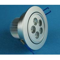 Wholesale 5 Watt Dimmable LED Ceiling Lights High Efficiency 60Hz 350 - 450lm from china suppliers