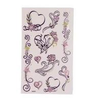 Wholesale Eco - friendly Art Paper safty temporary tattoo Stickers with Full Color Offset Printing from china suppliers