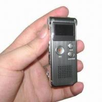 Wholesale Digital Voice Recorder with MP3/FM Function and 1 to 32GB TF Card from china suppliers