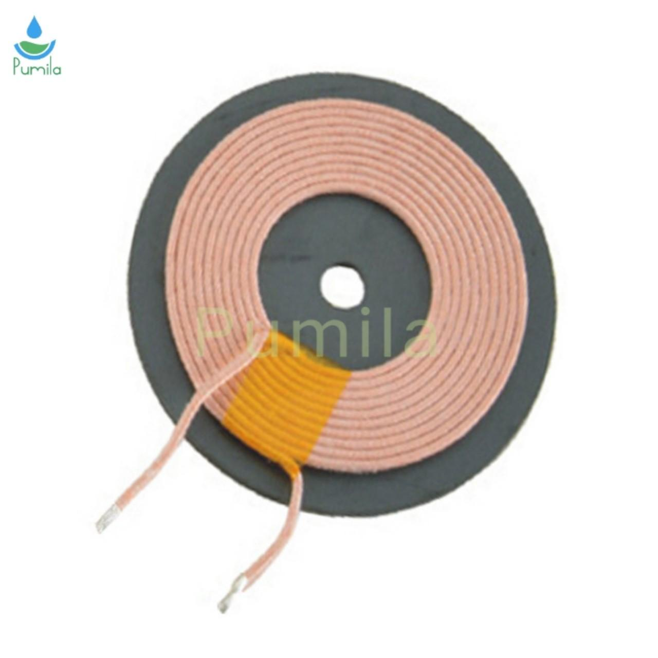 China Hot Sale Enamelled Copper Wire Air Coil 3.9UH TX A11 Wireless Charger Coil For Charging Device for sale