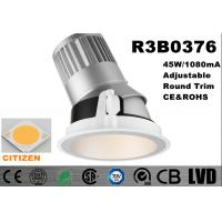 China Long Lifespan 50000 hours LED Spot Downlights Aluminum 2700k - 3000K Cutout 175mm on sale
