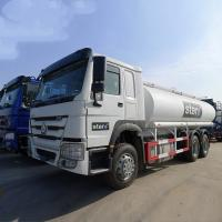 Wholesale White HOWO 20000L 6×4 Oil Tanker Truck Diesel Fuel Type Manual Transmission from china suppliers