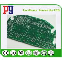 Wholesale Fr4 Single Sided Copper Pcb , Printed Circuit Board Assembly Green Solder Mask from china suppliers