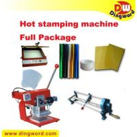 China Hot Foil Stamping Machine Heat Transfer Full Package,hot foil printing machine on sale