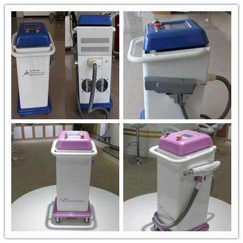 q switch laser removal machine