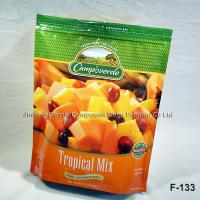 China Custom Laminated Stand Up Food Packaging Plastic Bags, Frozen Bags For Fruit on sale