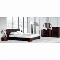 Quality Modern Bedroom Furniture Made Of Oak Wood Veneer For Sale