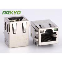 Wholesale Tab up 100Mb RJ45 with integrated magnetics modular jack for ethernet devices from china suppliers