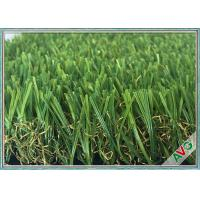 Wholesale Anti Color Fading Outdoor / Indoor Artificial Grass Great Weather Adaptability from china suppliers