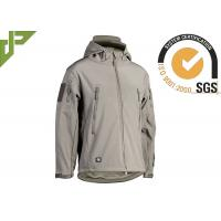 Wholesale Polyester Green Military Tactical Jackets With Armhole / Hat For Mountaineering from china suppliers