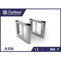 Wholesale High Speed Flap Barrier Gate / Controlled Access Gates With Infrared Sensors from china suppliers