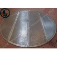 Wholesale Heavy Duty Wedge Wire Screen Panels For Malt Kiln Flooring Raw Material from china suppliers