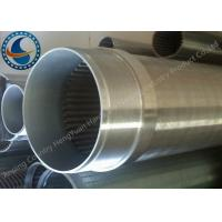 Wholesale Water Treatment Stainless Steel 304 Well Screen , Wedge Wire Screen Cylinders from china suppliers