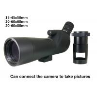 Wholesale Target shooting spotting scope 60x Camera telescope from china suppliers
