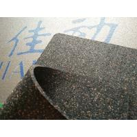 Buy cheap Commercial Acoustic Floor Underlay Rubber Cork Granules Bond With PUR Binder from wholesalers