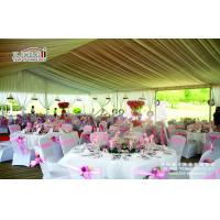 China Luxury Outdoor Wedding Tents With Aluminum Frame 20 Years Life Span on sale