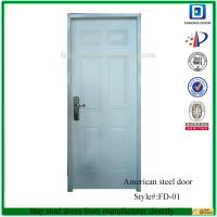 Wholesale Fangda 6 panel american steel door from china suppliers
