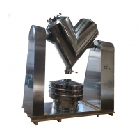 Buy cheap Chemical Coffee Herbal Medicine V Shape Powder Mixer Smooth Polishing from wholesalers