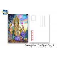Wholesale Souvenirs Custom Lenticular Postcards 5D Effect Two Sides CMYK Printing from china suppliers
