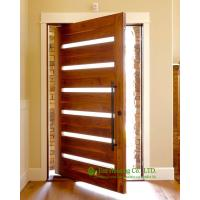 Solid wood pivot front door for sale modern external for Solid wood exterior doors for sale