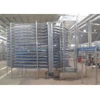 Wholesale Customized Bread Spiral Cooling Conveyor / Commercial Bakery Machine from china suppliers