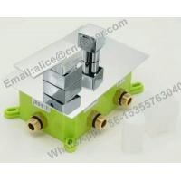 Wholesale concealedsquare brass showerfaucet,Bathroom best price concealed bath shower mixer tap with diverter from china suppliers