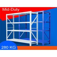 Buy cheap Eco Friendly Warehouse Storage Shelves Industrial Metal Shelving 2000*600*2000mm from wholesalers