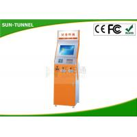 China Ticket Vending Gift Card Dispenser Payment Kiosk Bill Credit Card Moblie Nfc Cheque Pay Optional on sale