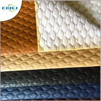 Wholesale Artificial PVC Leather Fabric Non Woven Long Durability Chunky Elegant from china suppliers