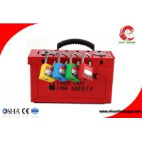 Wholesale China Lockout Station Advanced Electrical Safety Lockout & Tagout Station for Padlock hasp from china suppliers