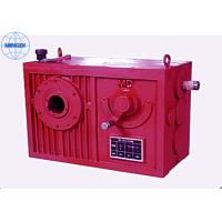 China Cylindrical Worm Gear Reducer / Single Or Two Stage Reduction Gearbox on sale