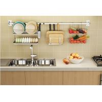 Wholesale Kitchen Cookware Organizer Rod / Wire Rack Cabinet Organizers Painted Steel from china suppliers