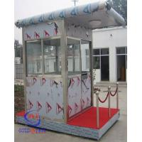 China Stainless Steel Guard House Mobile Sentry Garden Shed Fire Resistant on sale