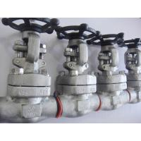 Wholesale Welded Bonnet Forged Steel Gate Valve Integral Flange Inconel 625 Monel 400 from china suppliers