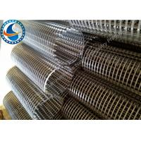 Wholesale Professional 3mm Slotted Wedge Wire Mesh Large Open Area Corrosion Resistance from china suppliers