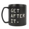 Buy cheap Large Capacity Black Custom Ceramic Mugs Laser Debossed Logo 21OZ from wholesalers