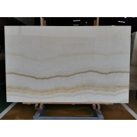 Wholesale Wooden White Backlit 16mm Jade Onyx Slab For Wall Panel from china suppliers